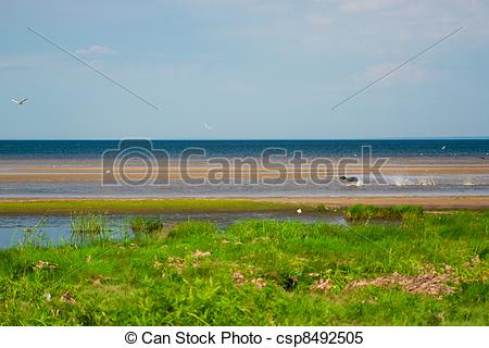 Stock Images of the Gulf of Finland.