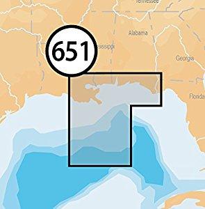 Amazon.com: Navionics Platinum+ SD 651 Central Gulf of Mexico.