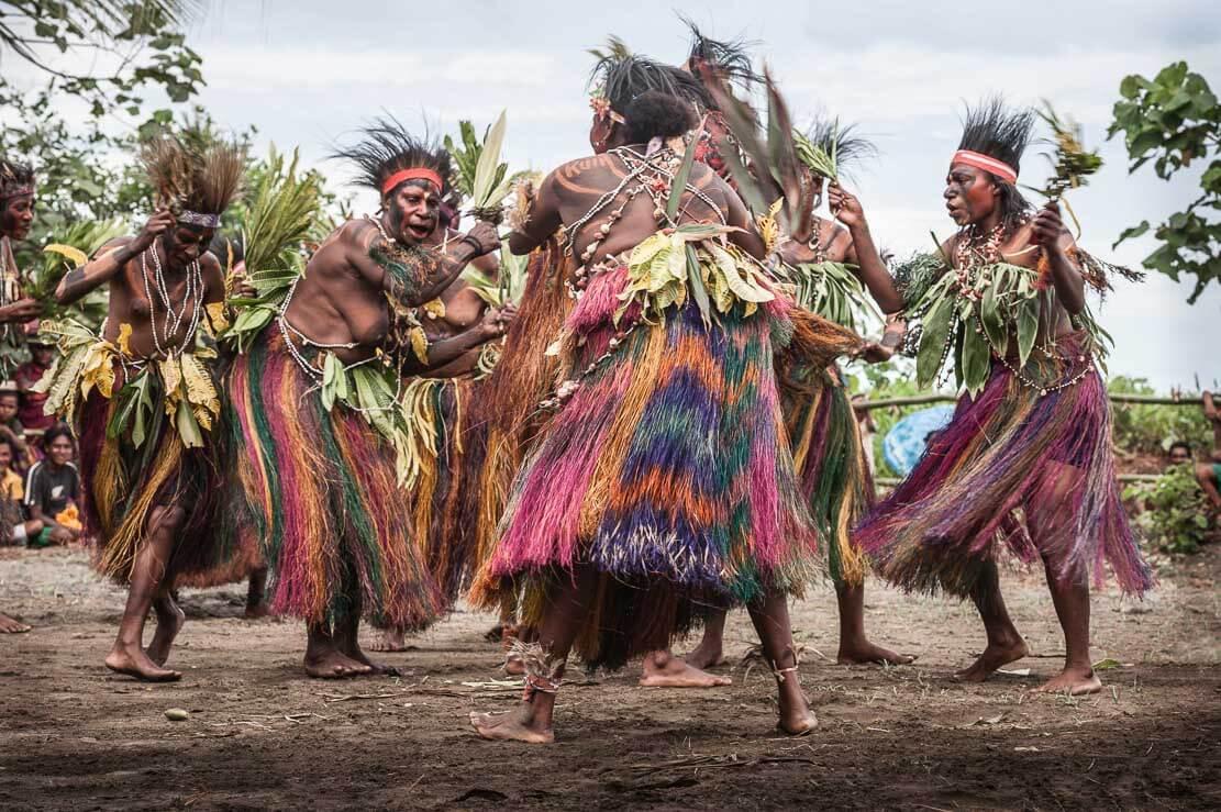 Papua New Guinea: Gulf Mask Festival ∞ ANYWAYINAWAY.