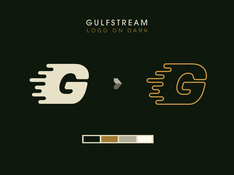 Gulfstream Logo by Travis Weerts on Dribbble.