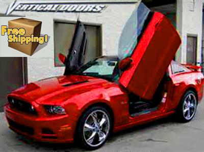 Gullwing Doors Mustang & Mustang Vertical Lambo Doors 2011 2014.