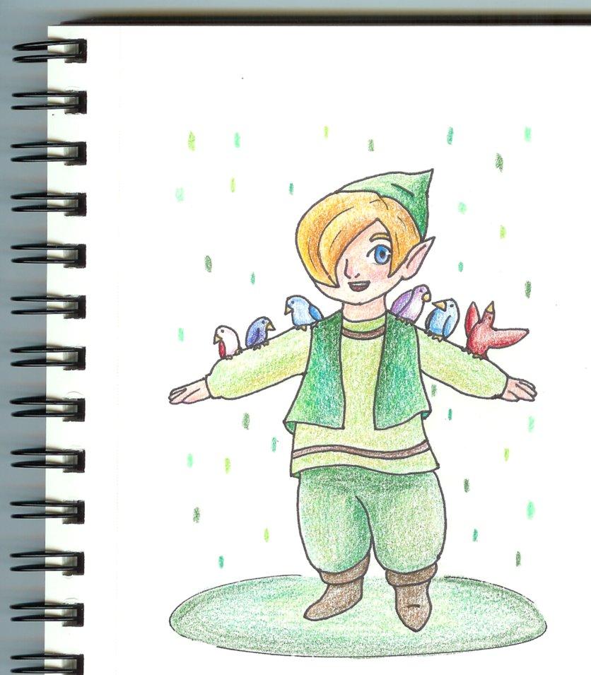 LoZ: Gulley Drawing by ThunderSpade on DeviantArt.