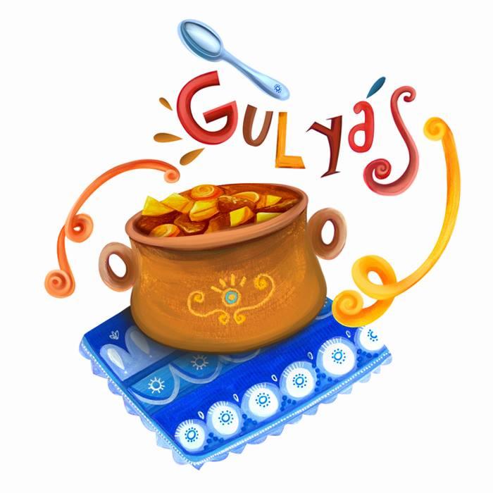 Gulyás/Goulash (Sopa à base de páprica, carne e legumes / Soup.