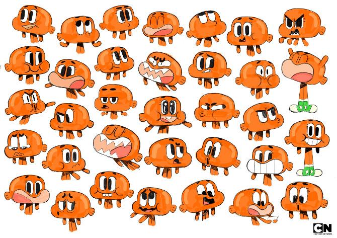The Amazing World of Gumball Cartoon Network.