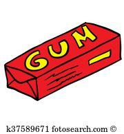 Pack gum Clip Art EPS Images. 32 pack gum clipart vector.