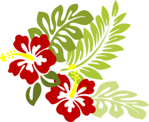 Hibiscus 21 Clip Art at Clker.com.