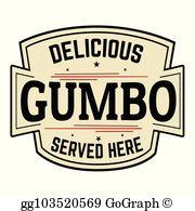 Gumbo Clip Art.
