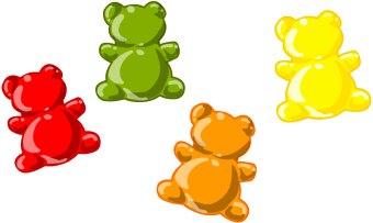 Gummi Bears clip art.