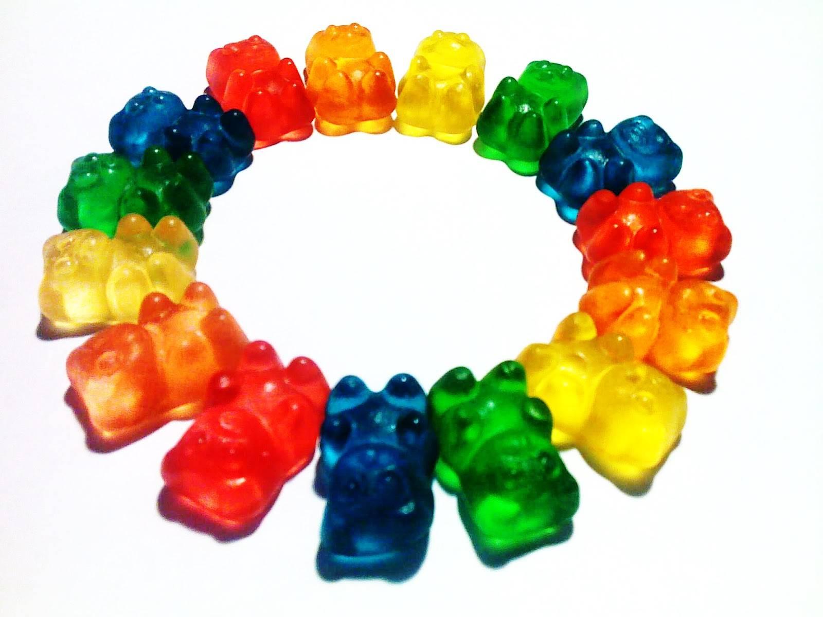 Gummy bears clipart.