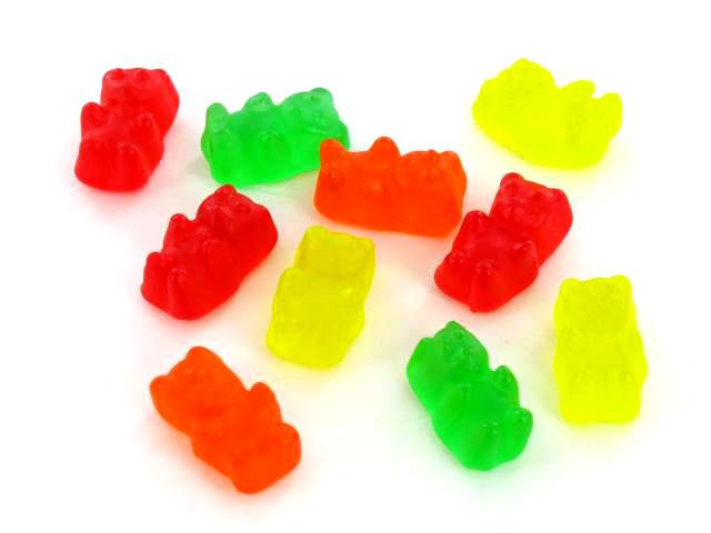 Green Gummy Bear Clipart.