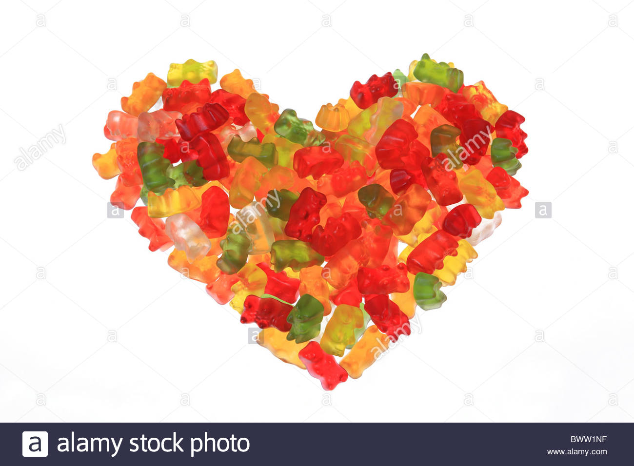 Candy Gummi Bear Jelly Baby Sweets Candy Bright Colorfully Sweet.