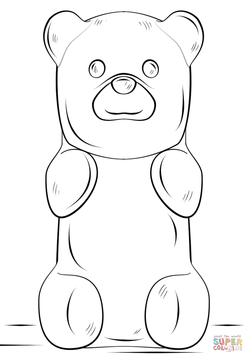 148 Gummy Bear free clipart.