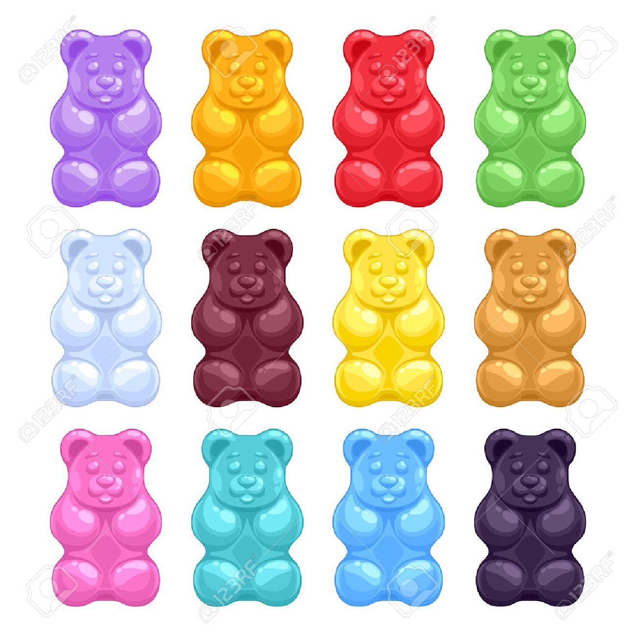 Gummy bears clipart 5 » Clipart Station.