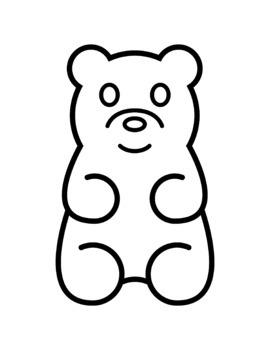 Gummy Bears Clip Art.