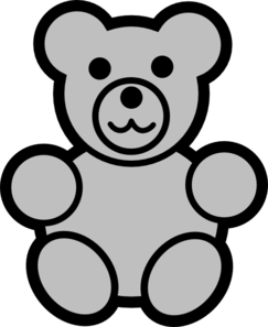 Gummy Bear Clip Art Black And White.