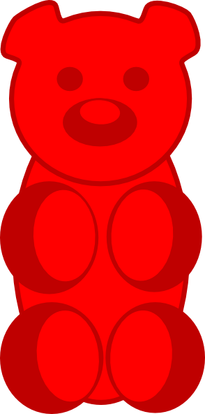Gummy Bear Clip Art at Clker.com.