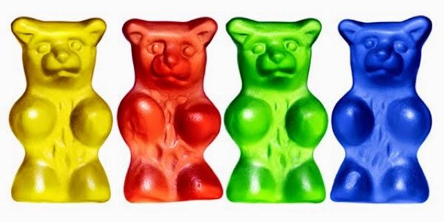 Gummy bear clip art.