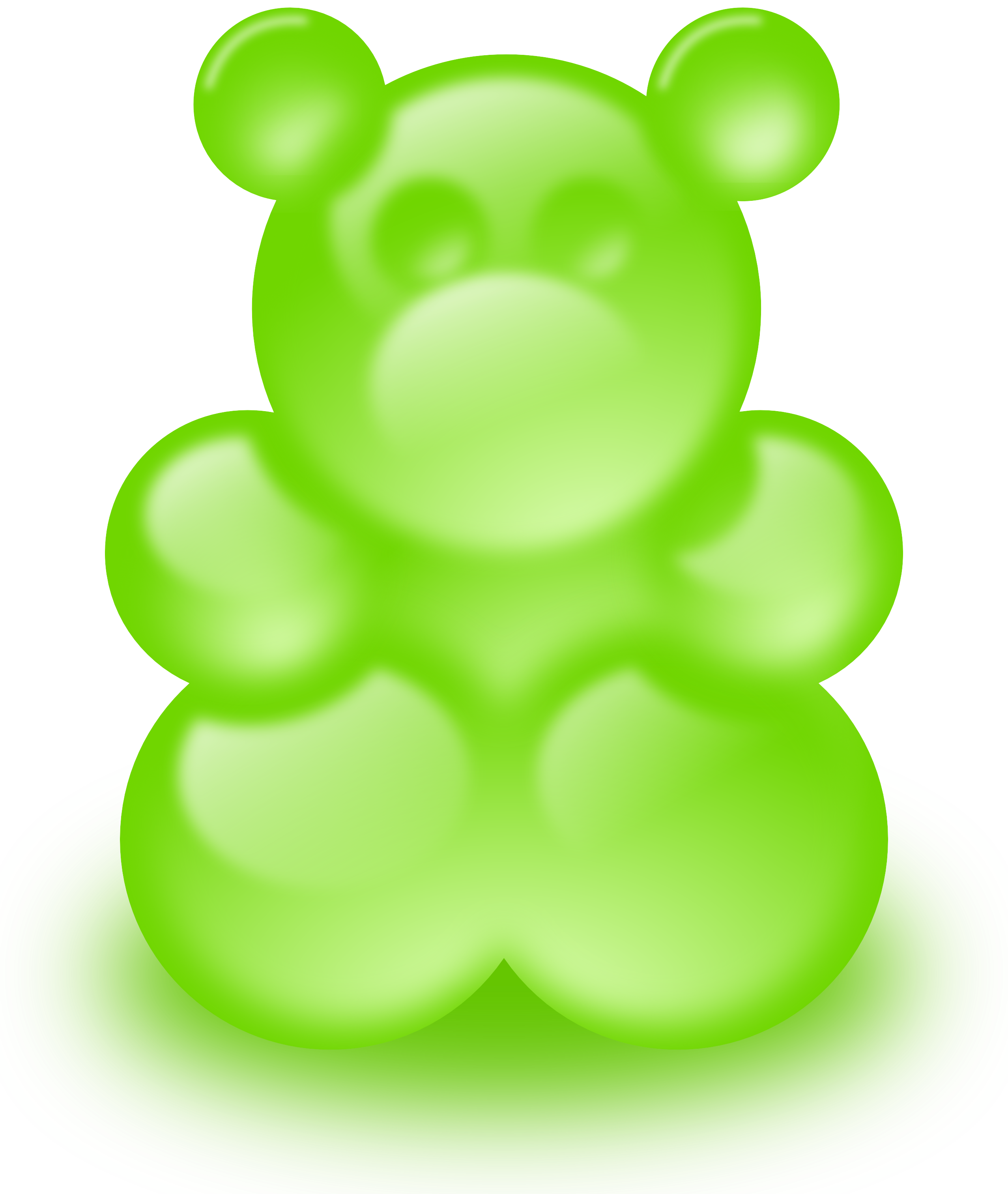 Gummy bears clipart.