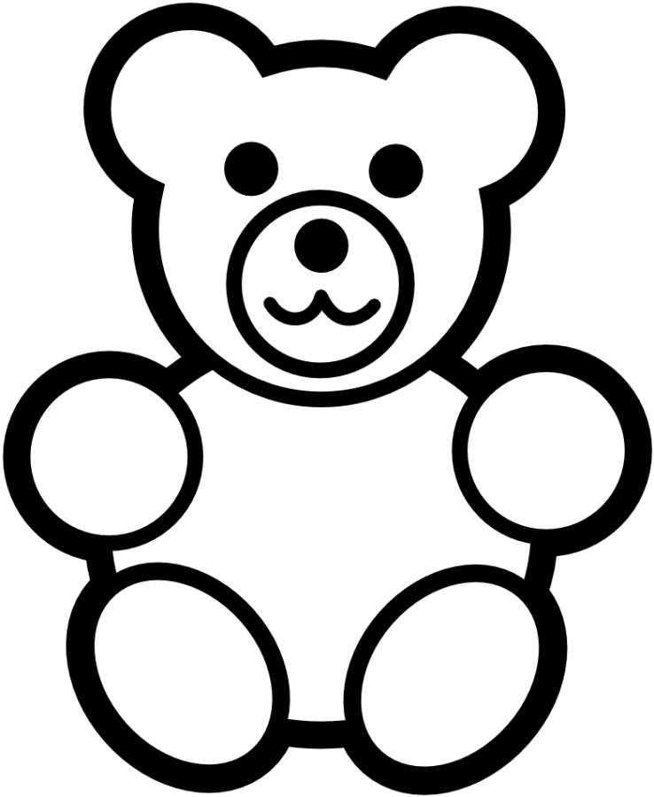 Image result for printable pictures of gummy bears clipart.