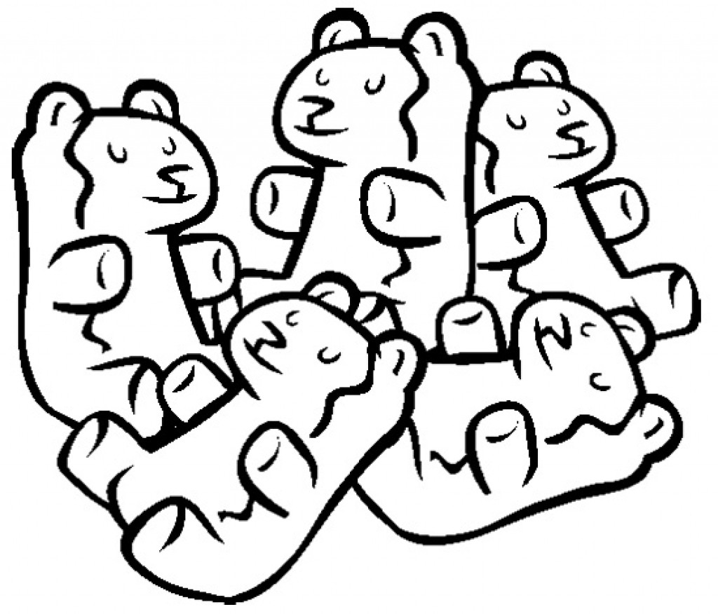 Collection of Gummy bear clipart.