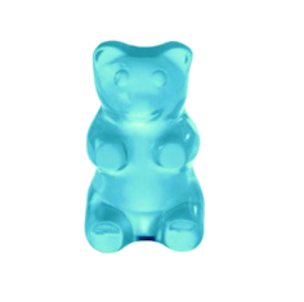 Blue gummy bear png #30421.