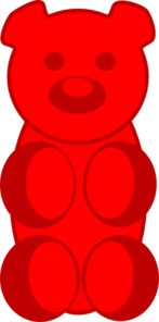 Gummy Bear Clip Art at Clker.com.