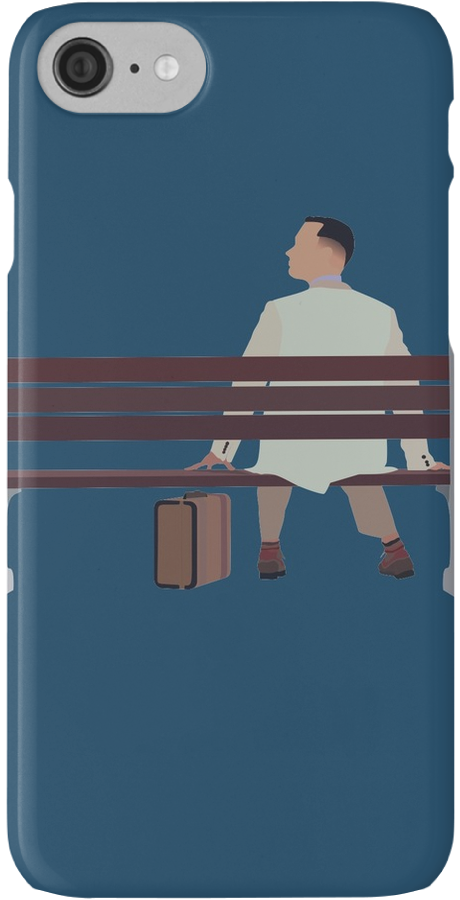 "Forrest Gump Minimalist Art Work"" iPhone Cases & Skins by."