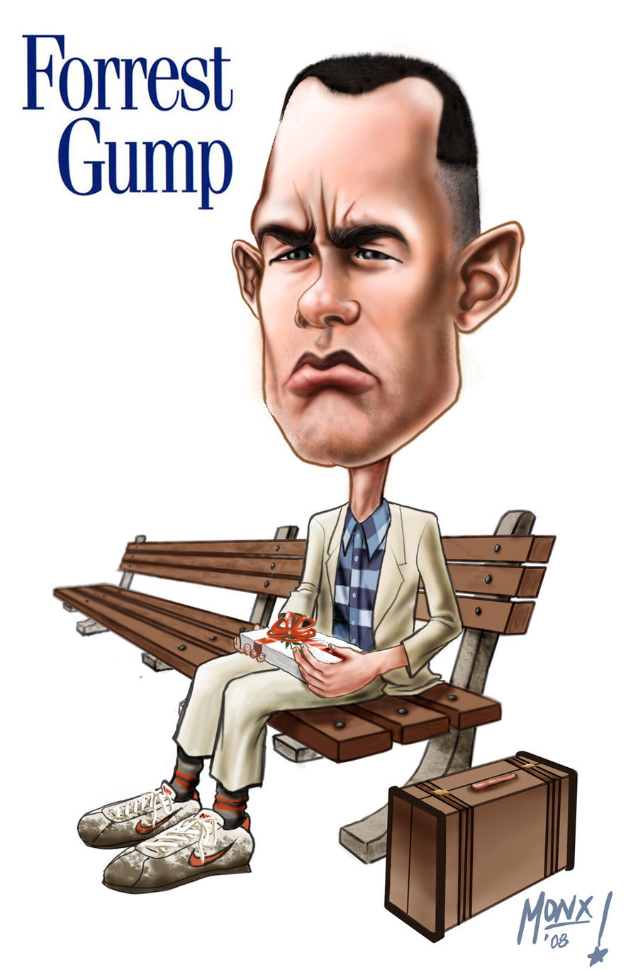 Forrest Gump by monx.