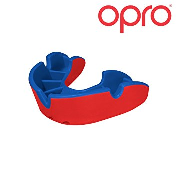 Junior Gum Shield for Kids OPRO Self Fit GEN3 Silver Mouthguard.