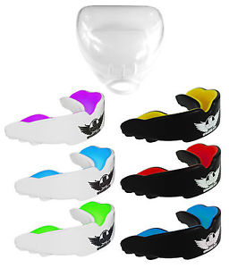 UK Warrior Gum Shield Mouth Guards Teeth Protection Boxing Martial.
