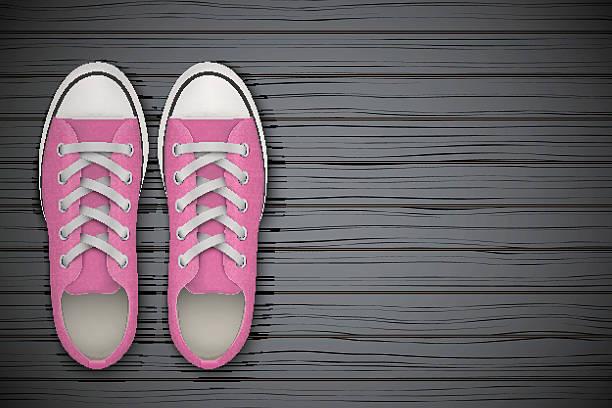 Sneakers (Gumshoes) Clip Art, Vector Images & Illustrations.