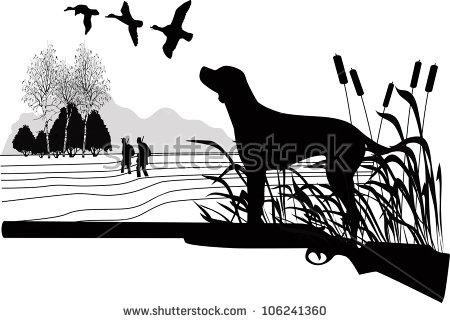 Hunting Dog Stock Photos, Royalty.