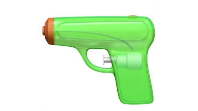 Apple urged to rethink gun emoji change.