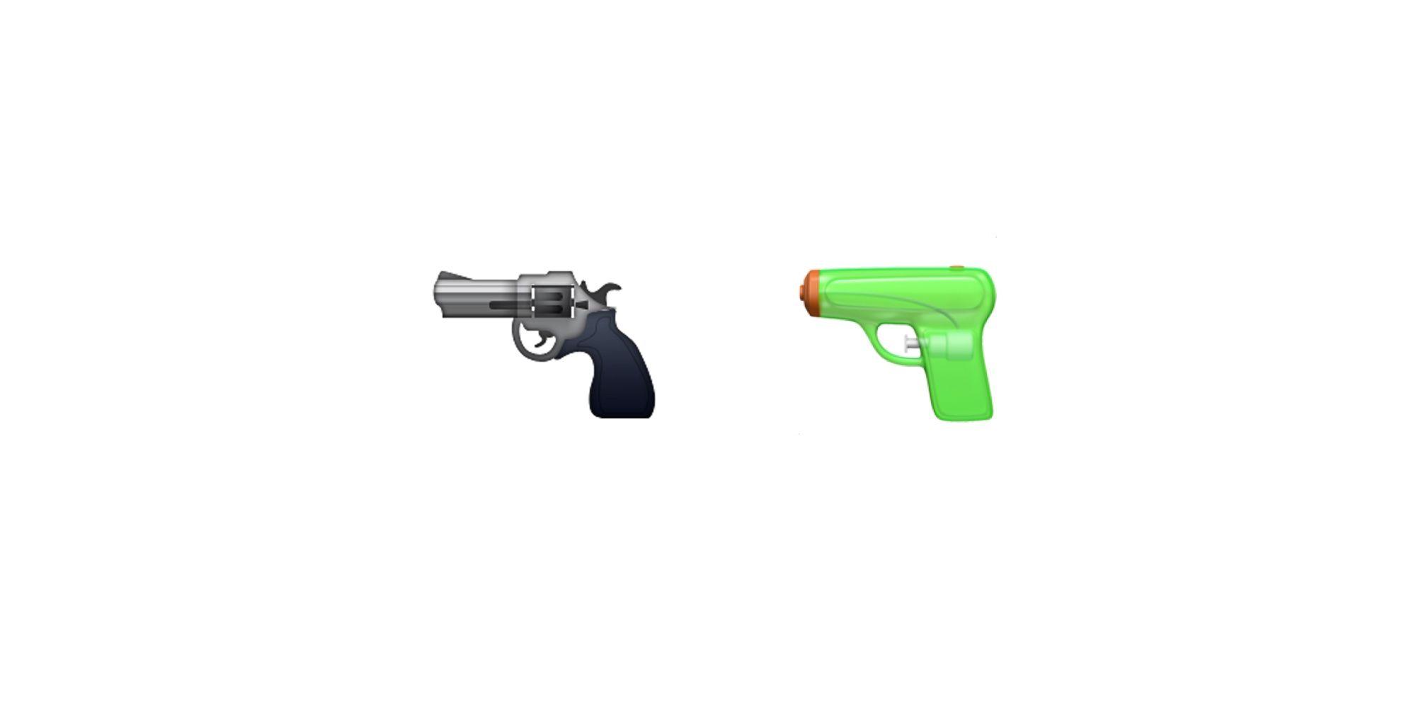 Apple And The Gun Emoji.