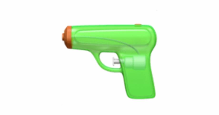 gun #watergun #emoji #iphone #guns #green.