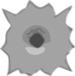 Bullet Hole Clip Art at Clker.com.