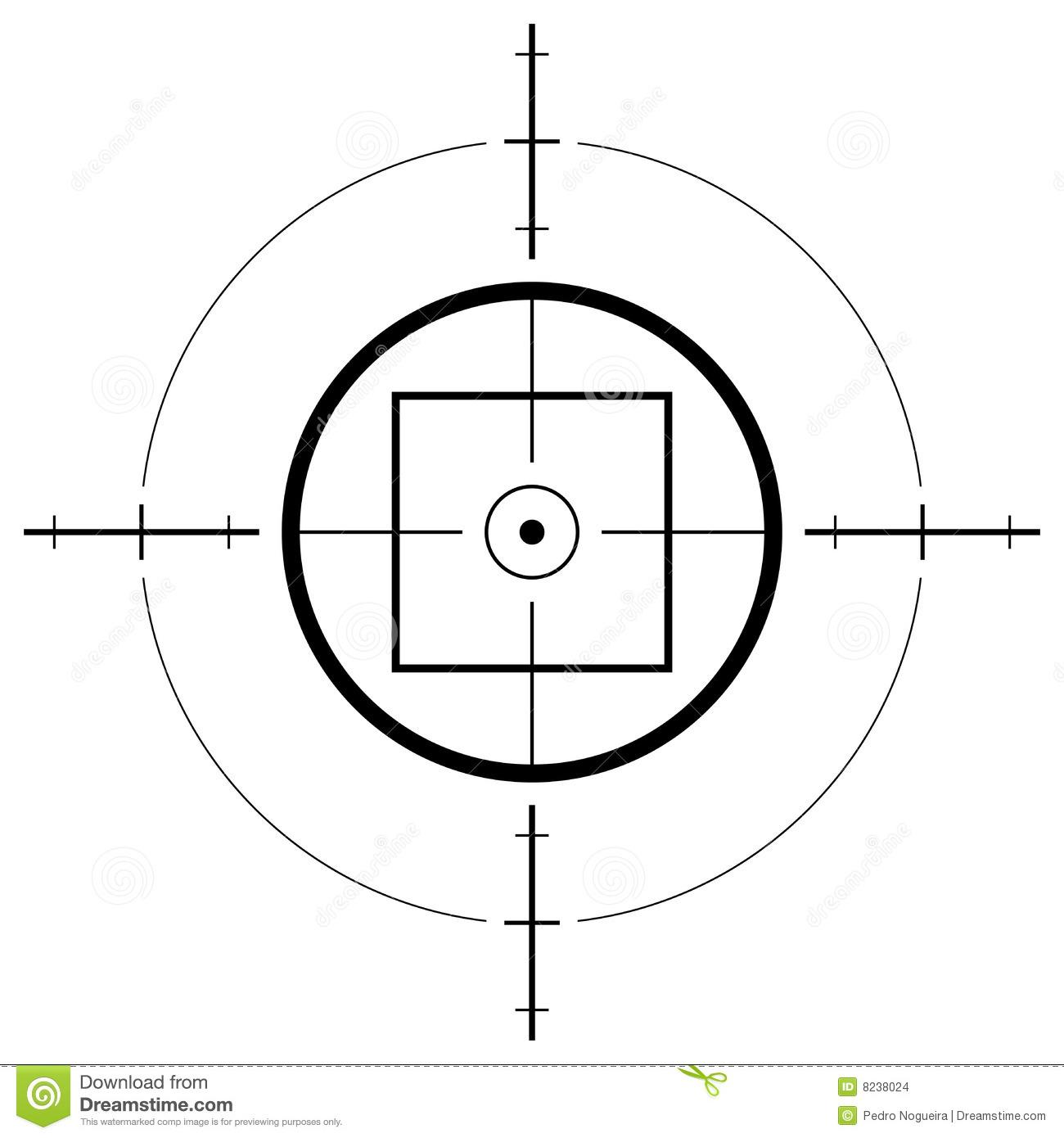 Gun Sight Stock Images.