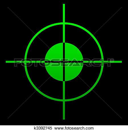 Gun sight Stock Illustrations. 330 gun sight clip art images and.