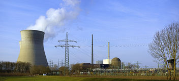 Nuclear Power Plant Gundremmingen Editorial Photography.