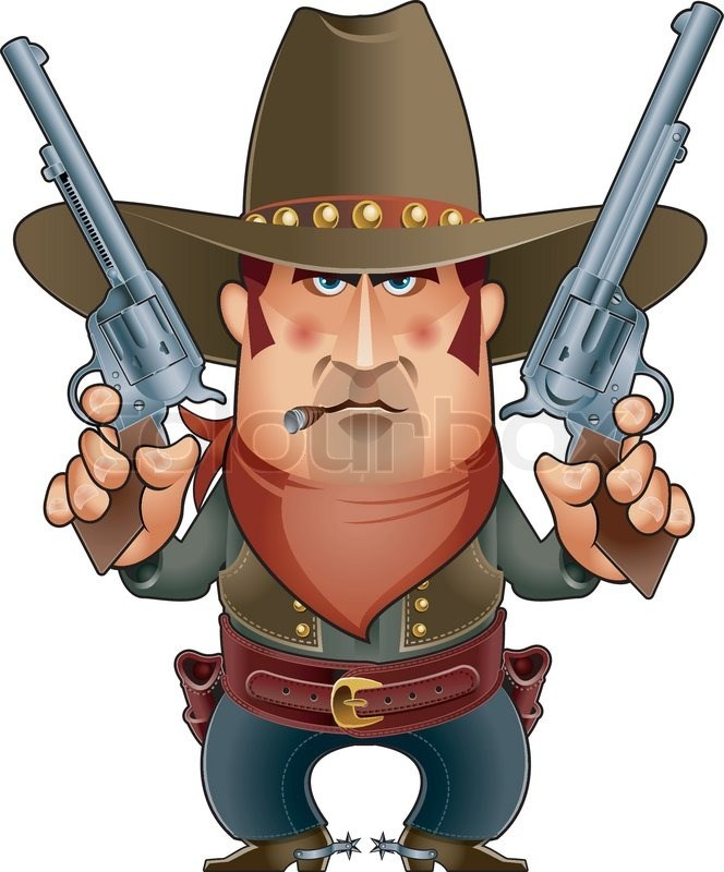 Gunfighter clipart 2 » Clipart Portal.