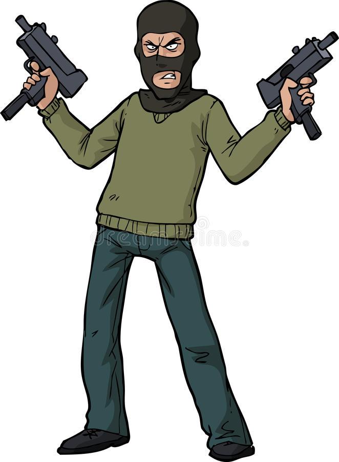 Gunman Stock Illustrations.