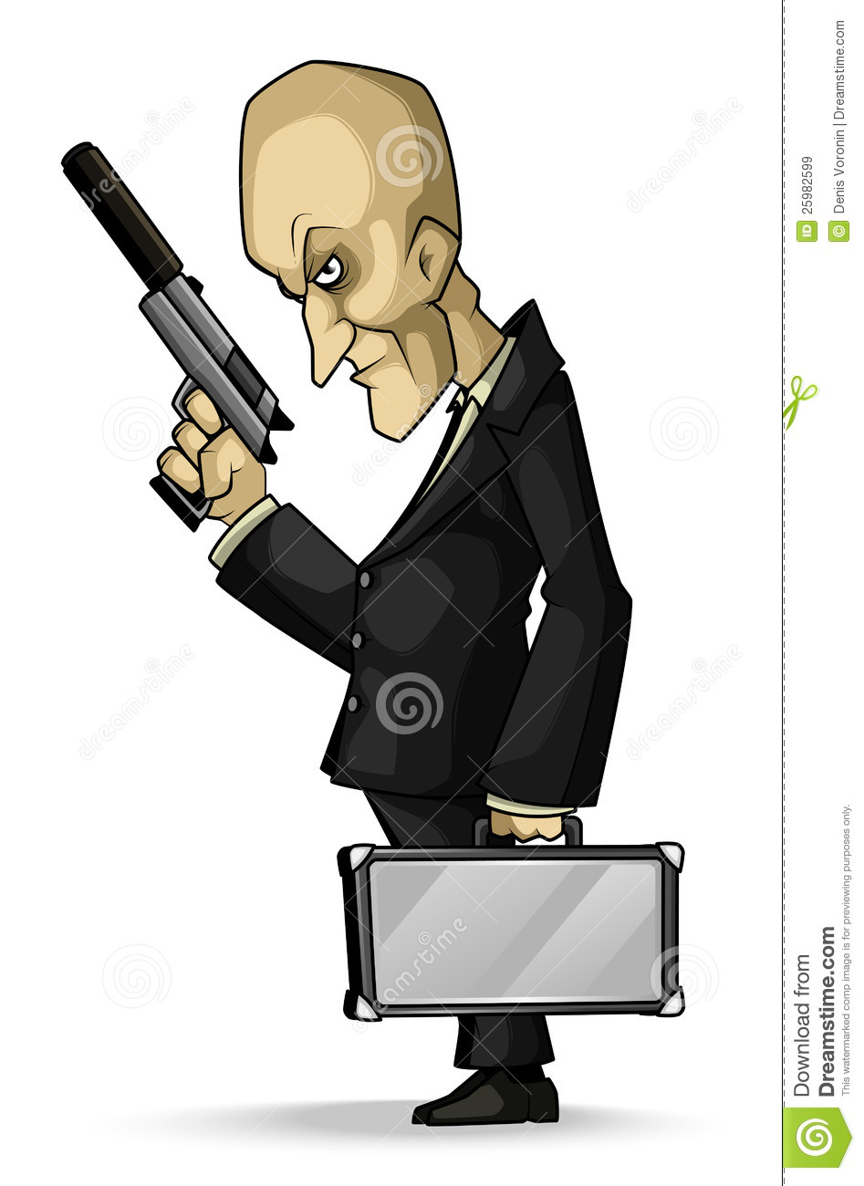 Gunman Clipart.