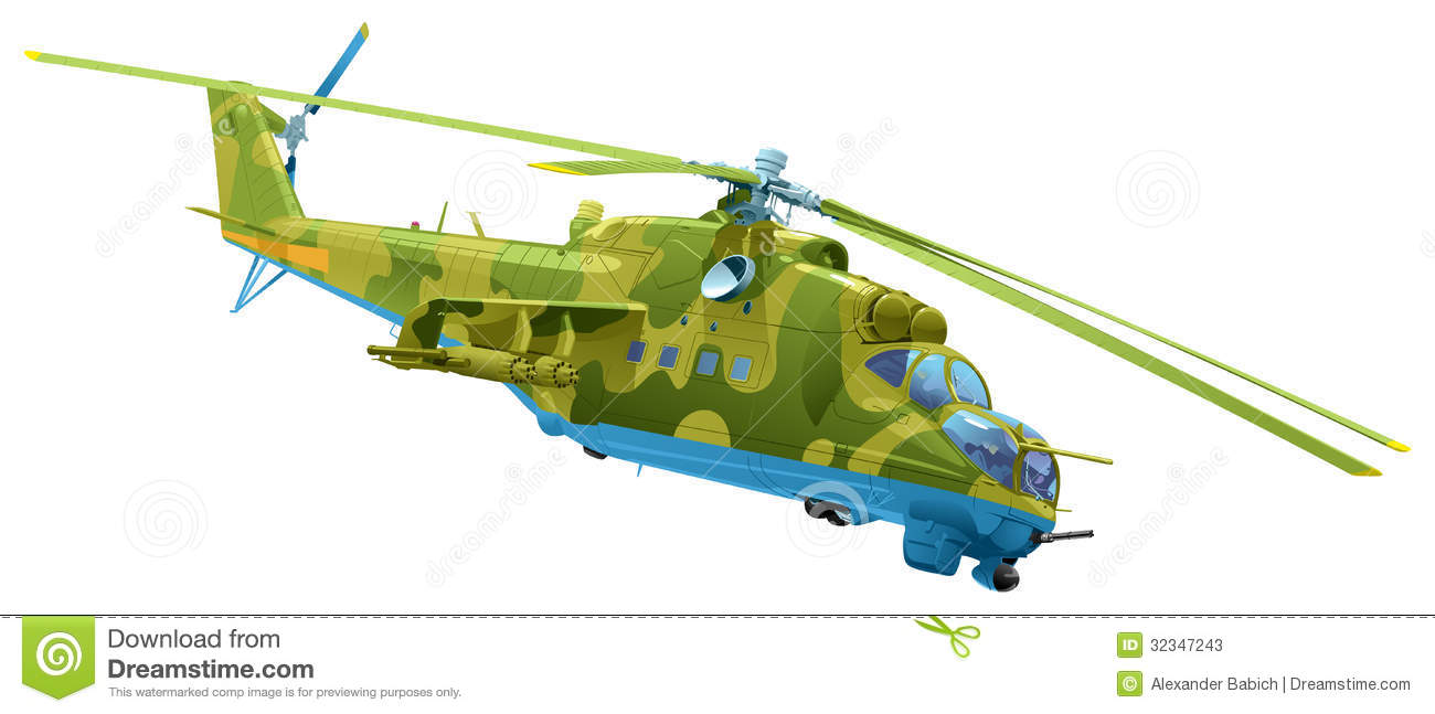 Attack Helicopter Mi.