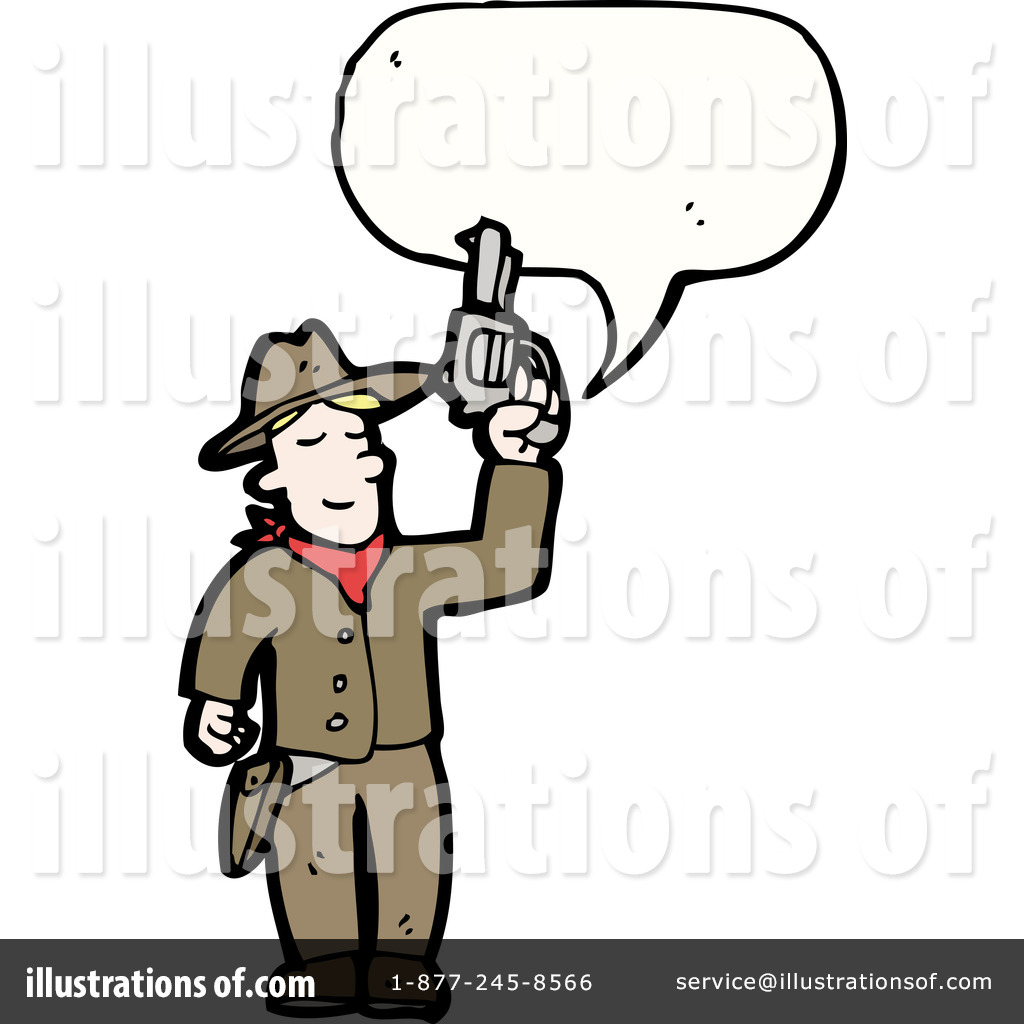 Gunslinger Clipart #1217160.