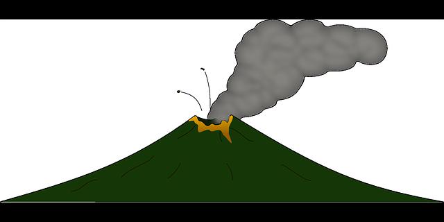 Volcano Clip Art Free.
