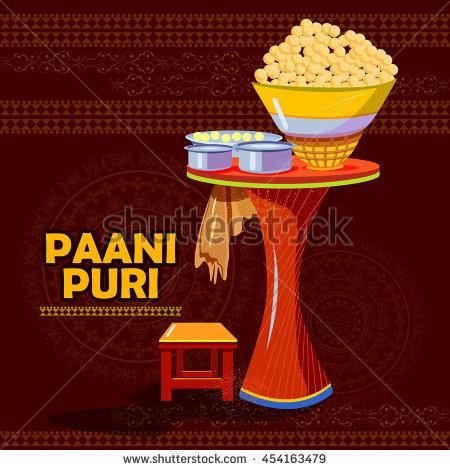 Panipuri Stock Photos, Royalty.