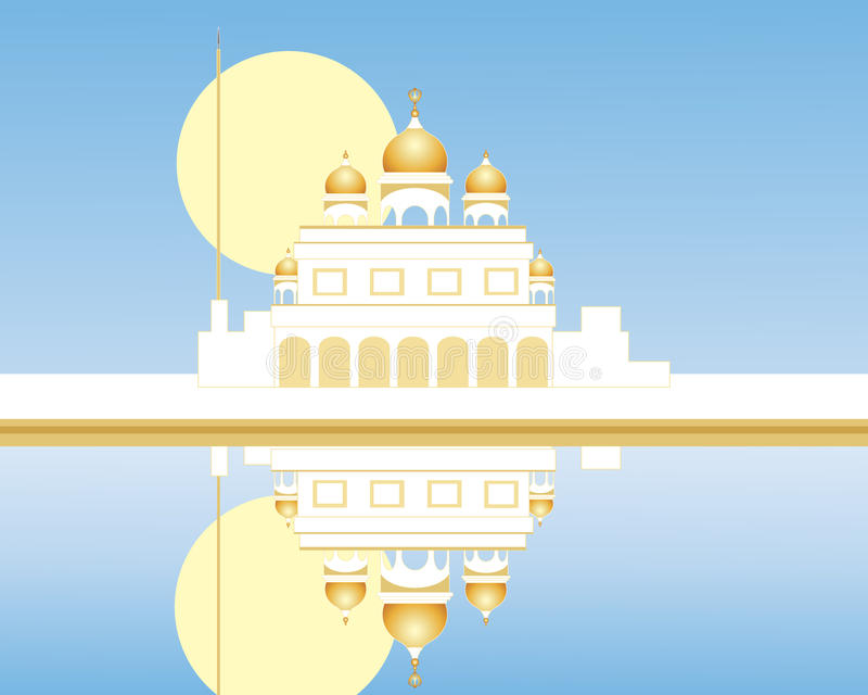 Gurdwara Stock Illustrations.