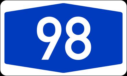 Bundesstraße 34.