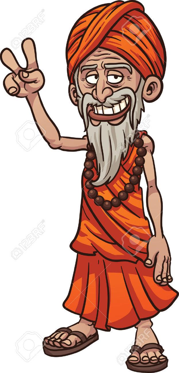 Showing post & media for Guru clip art cartoon.