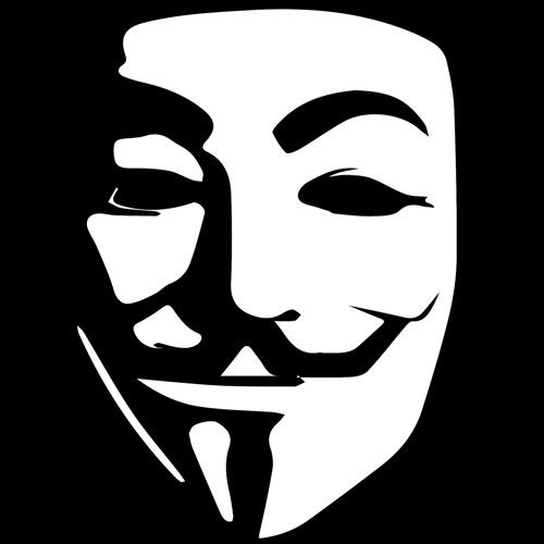 Images of Anonymous Face Stencil - #SpaceHero